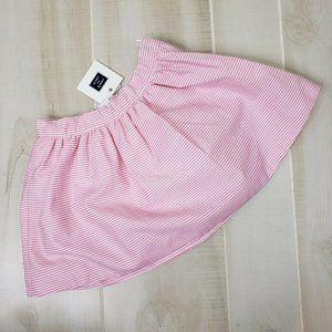 Janie and Jack NWT Skirt 18-24 M Girls Pink Stripe